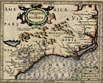 Virginia and Florida as they looked in 1607.