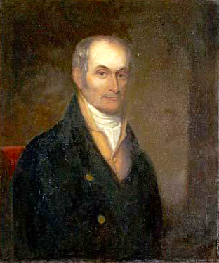 An 1830 portrait of Willie Blount by an unknown artist. Image from the North Carolina Museum of History.