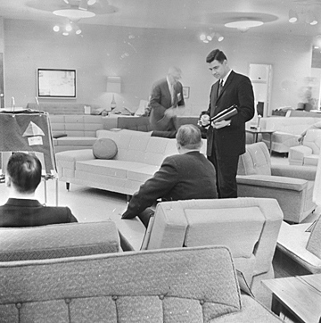 High Point furniture market, 1960