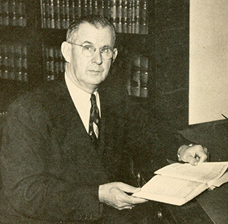A photograph of Clyde Atkinson Erwin. Image from Archive.org.
