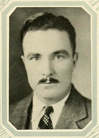 """Howard Gibson Godwin Dunn, N.C."" Photograph. The Yackety Yack vol. 38. Chapel Hill, N.C.: Publication Union of the University of North Carolina. 1928. 55."