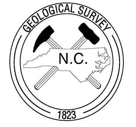 Logo for the the N.C. Geological Survey, 2015. Courtesy of the N.C. Department of Environment and Natural Resources.