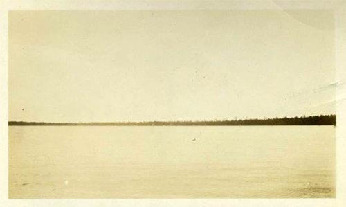 Photograph of Singletary Lake, ca. 1930s. Item H.1952.97.50 from the collection of the North Carolina Museum of History.