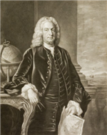 Royal Governor Arthur Dobbs, for whom Dobbs County was named.
