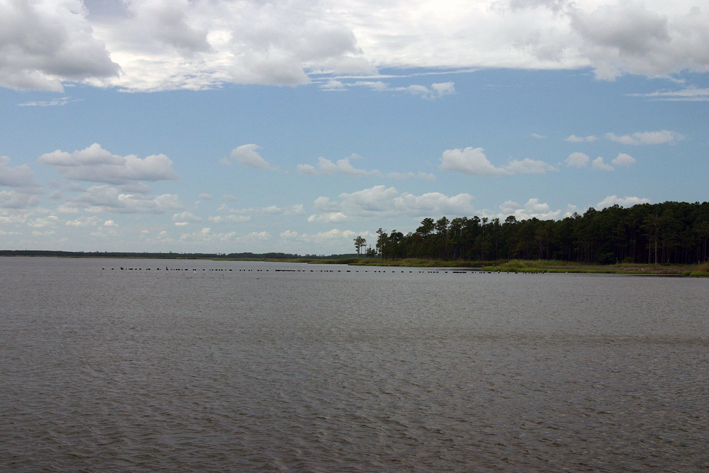 Life on the Pamlico Sound was far from peaceful at the beginning of the eighteenth century.