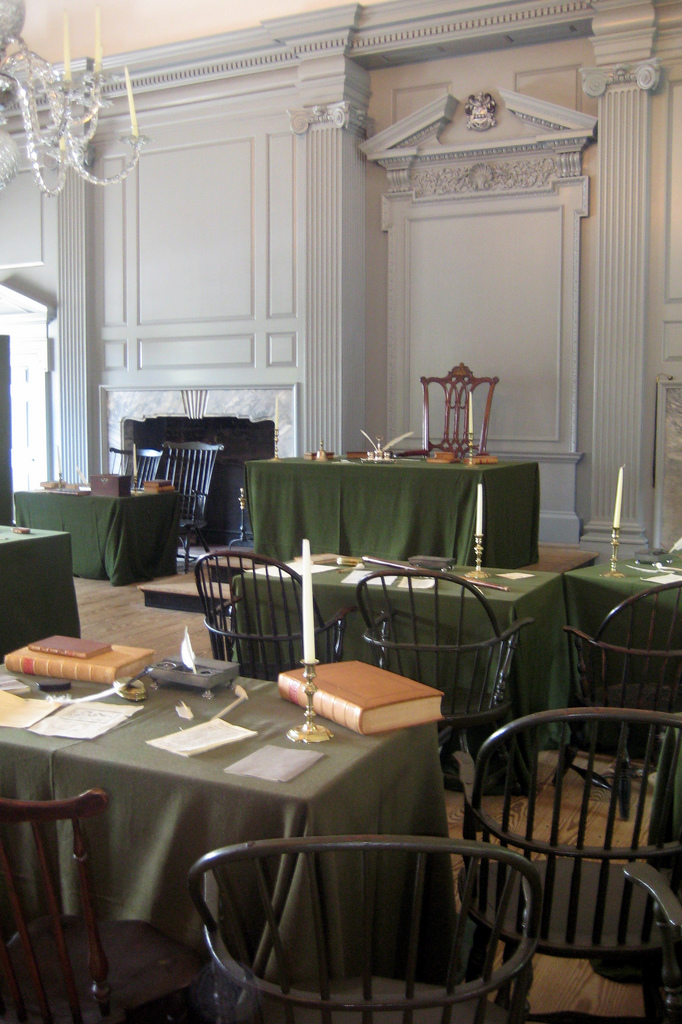 Assembly room, Independence Hall