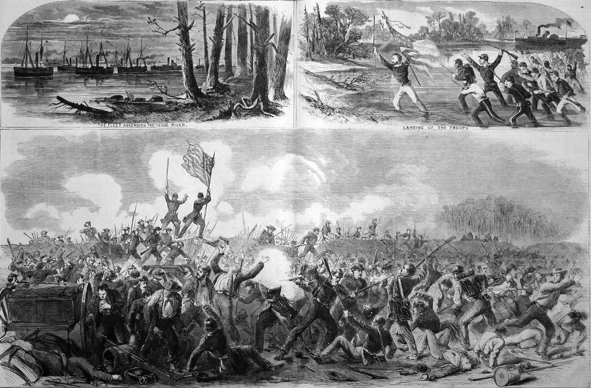 Engravings of the Battle of Newbern.