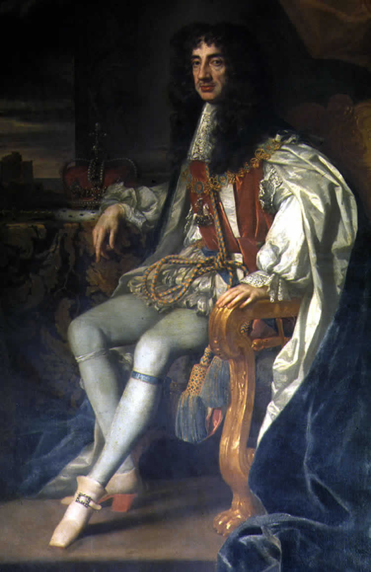 King Charles II of England