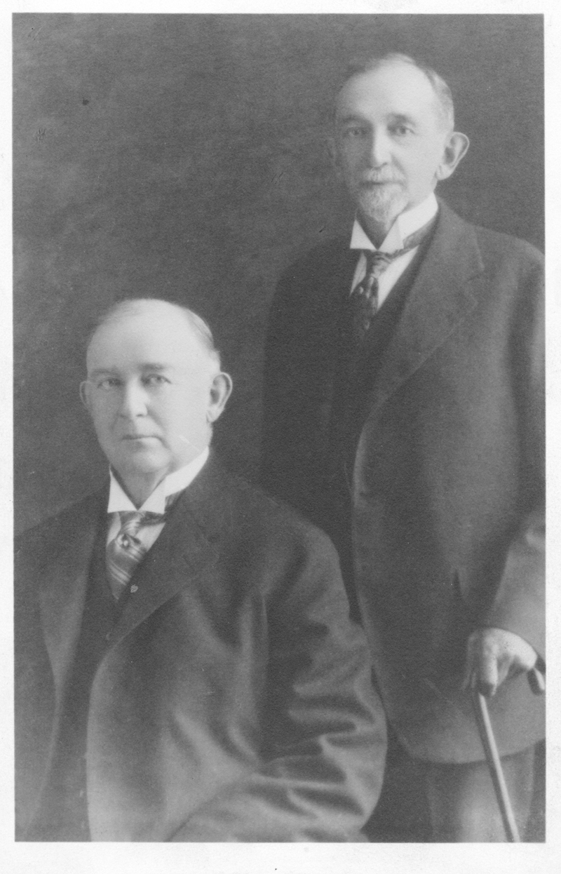 "James Buchanan ""Buck"" Duke and Benjamin Duke"