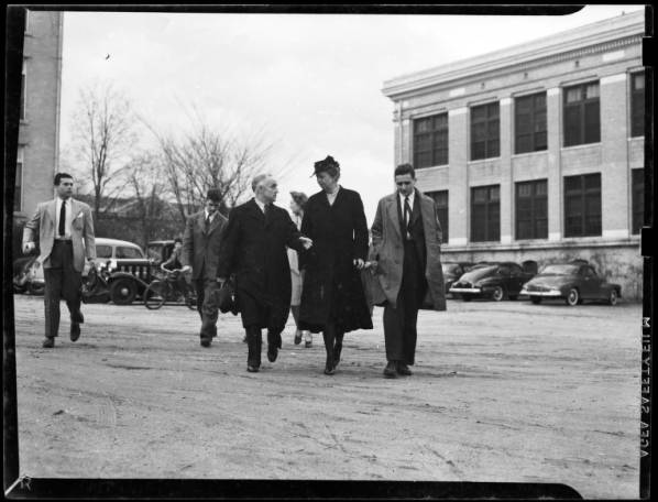 Eleanor Roosevelt's visit to UNC-Chapel Hill