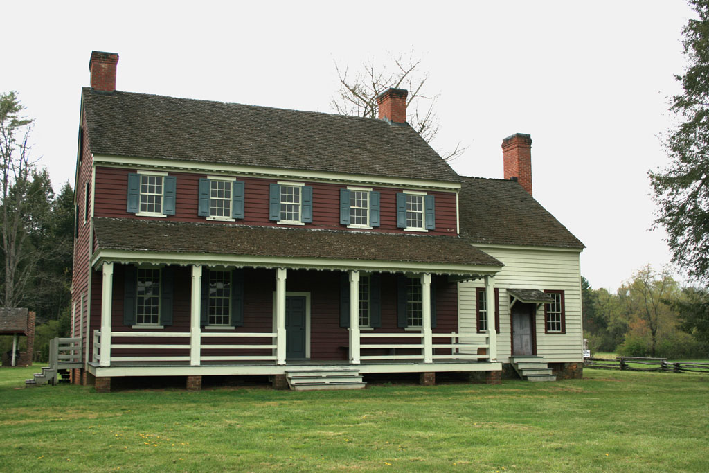 Fort Defiance, the Lenoir family home