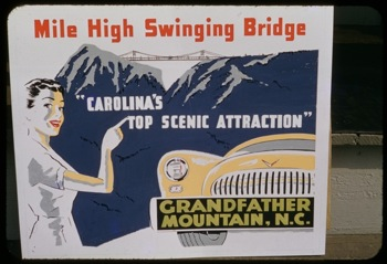 Advertisement for Grandfather Mountain