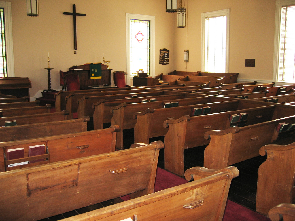 Milton Presbyterian Church in Caswell County