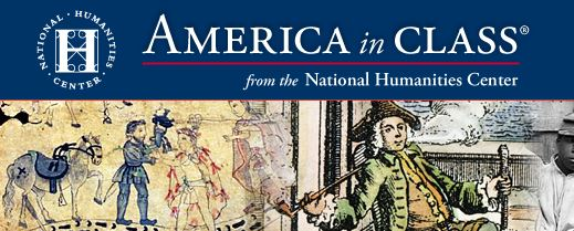 Logo for America in Class, from the National Humanities Center