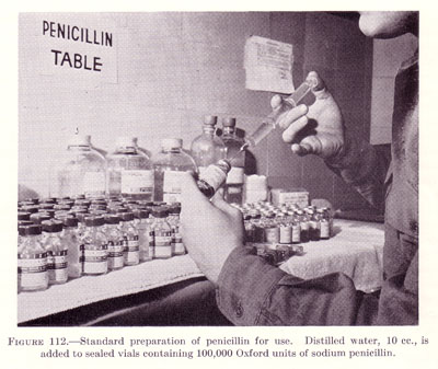 Preparation of penicillin