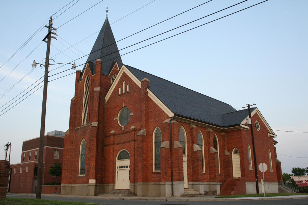 This is a photograph of St. Joseph's AME Church.