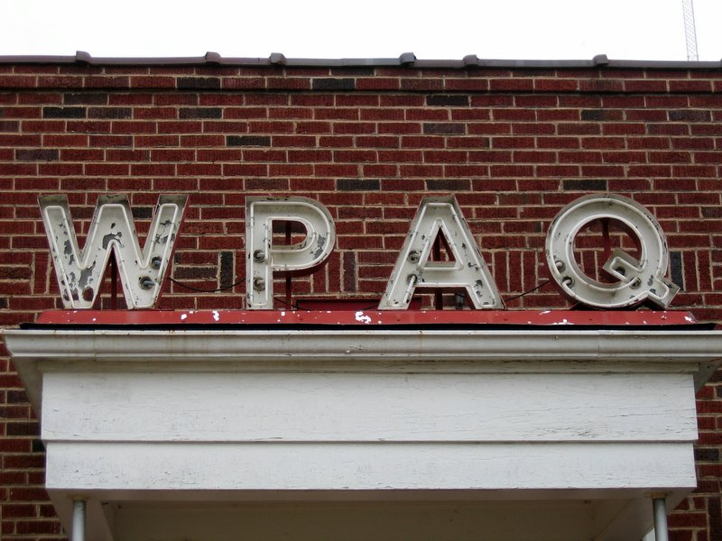 As of 2010, WPAQ still broadcasts out of Mt. Airy