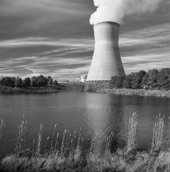 CP&L'S Shearon Harris Nuclear Power Plant in Wake County. Photograph courtesy of Progress Energy.