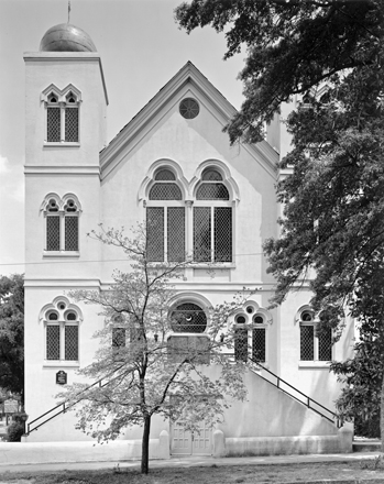 Wilmington's Temple of Israel, the oldest synagogue in North Carolina. Photograph by Tim Buchman. Courtesy of Preservation North Carolina.