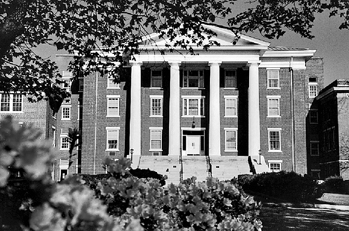 Main Building, Louisburg College. Photograph courtesy Publications and Media Relations, Louisburg College.