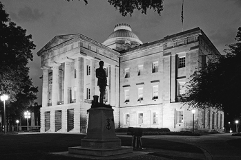 The North Carolina State Capitol. Photograph courtesy of North Carolina Division of Tourism, Film, and Sports Development.