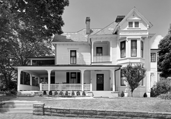 Old Kentucky Home in Asheville, late 1980s. Photograph by Tim Buchman. Courtesy of Preservation North Carolina.