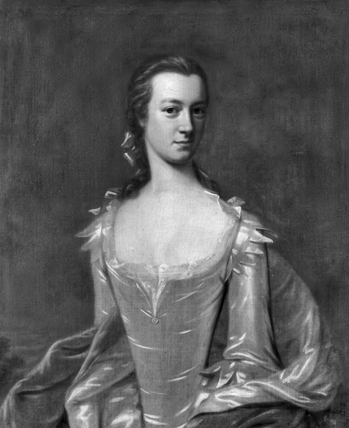 Portrait of Lady Margaret Wake Tryon, wife of royal governor William Tryon, painted by an unknown artist in the mid-eighteenth century. Lady Tryon played a prominent role in the cultural development of the North Carolina colony. Courtesy of Norwich Castle Museum and Art Gallery.