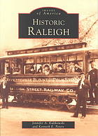 Cover of Historic Raleigh