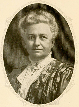A photograph of Julia Martha Johnston Andrews, wife of Alexander Boyd Andrews. Image from the Internet Archive.