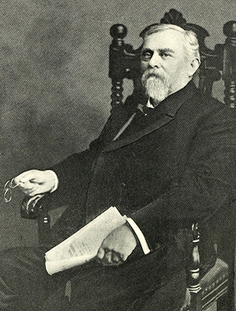 An engraving of Thomas Munro Argo published in 1917. Image from the Internet Archive / N.C. Goverment & Heritage Library.