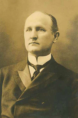 Photograph of Charles Brantley Aycock. Image from the North Carolina Historic Sites.