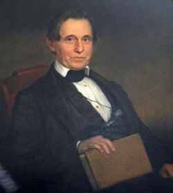 Portrait of William Horn Battle by William Garl Brown, 1859. Image from the North Carolina Museum of History.