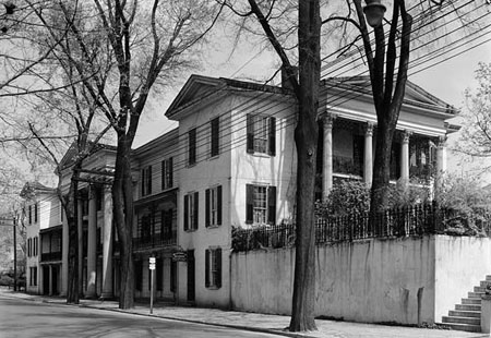 The Belo house in Winston-Salem, built by Alred Horatio Belo. Courtesy of Library of Congress.