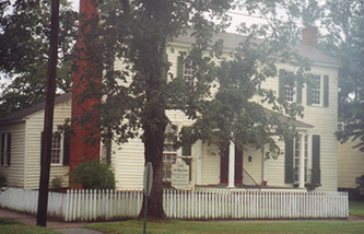 The Asa Biggs House in Williamston, N.C. was placed on the National Register of Historic Places in 1979. Image from the North Carolina Digital Collections.