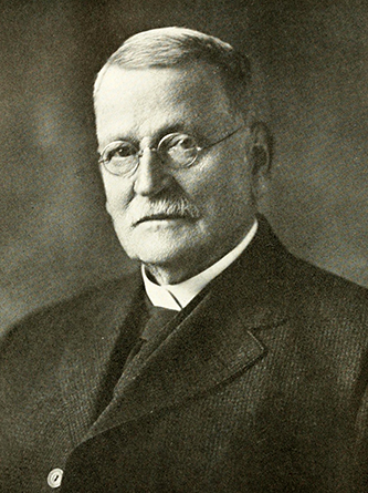A photograph of Robert Bingham published in 1919. Image from the Internet Archive.