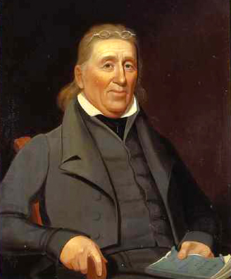Portrait of John Gray Blount by Jacob Marling, circa 1829. Image from the North Carolina Museum of History.