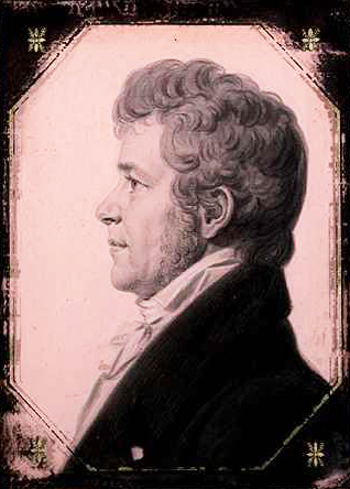 An 1805 portrait of Thomas Blount by Charles Balthazar Julien Fevret Saint-Memin. Image from the North Carolina Museum of History.