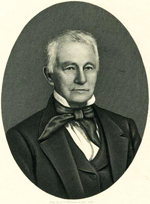An engraving of William Boylan published in 1907. Image from the North Carolina Museum of History.