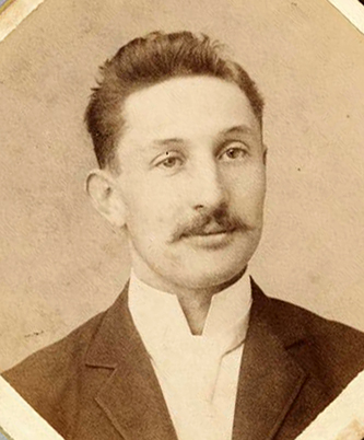 Photograph of Caleb Davis Bradham, 1895. Image from the North Carolina Museum of History.