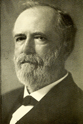 A photograph of Henry Alfred Brown published in 1929. Image from the Internet Archive.