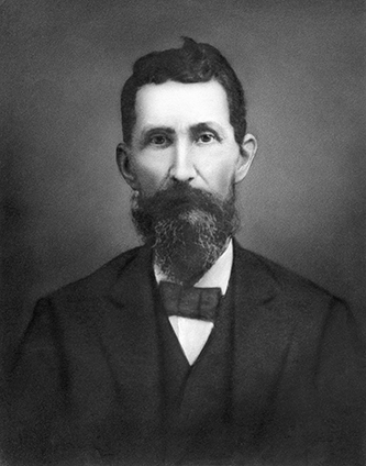 An undated photograph of William Albert Gallatin Brown. Image courtesy of Mars Hill University.