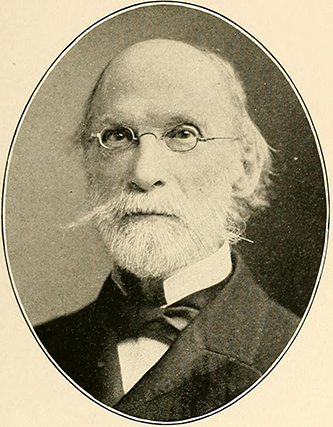 A photograph of Nathaniel Hill Burgwin published in 1901. Image from the Internet Archive.