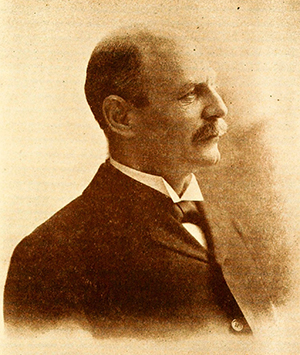 An 1896 photograph of William Hyslop Sumner Burgwyn. Image from Archive.org.