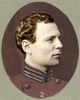 Retouched photograph of William H. S. Burgwyn from a proof sheet for Clark's Regimental Histories. Image from the North Carolina Museum of History.