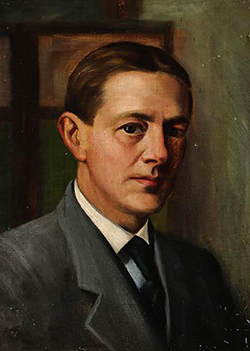 Self-portrait of Jacques Busbee, 1930. Image from the North Carolina Museum of History.
