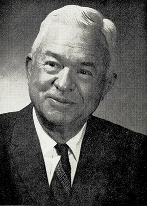 A photograph of Irving Edward Carlyle published in 1971. Image from the Internet Archive.