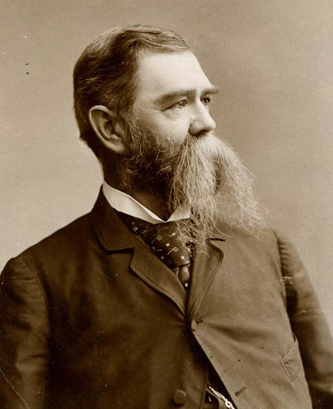 Photograph of Elias Carr, circa 1890-1900. Image from the North Carolina Museum of History.