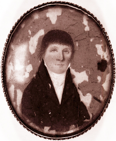 Photograph of a portrait believed to be Richard Caswell. Image from the State Archives of North Carolina.