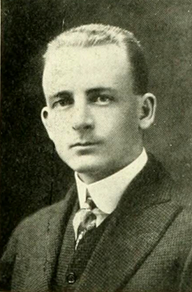 A photograph of Lenoir Chambers from the 1914 University of North Carolina yearbook. Image from the Internet Archive.