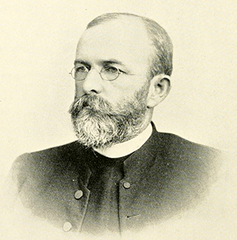 A photograph of Joseph Blount Cheshire, Jr., circa 1893. Image from Archive.org.
